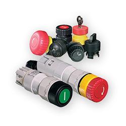 Botoneras y Llaves Selectoras para montaje en panel serie 8003 - STAHL