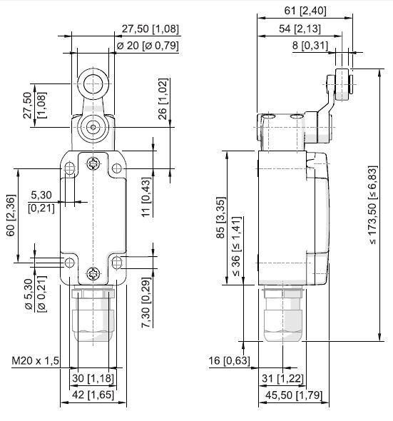 8070-2 - medidas