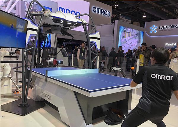 FORPHEUS 5.0 - Robot de Omron que eneseña a jugar al ping pong