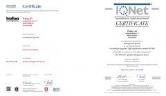 Certificaciones Trafag
