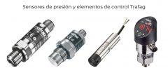 Sensores de presión y elementos de control Trafag