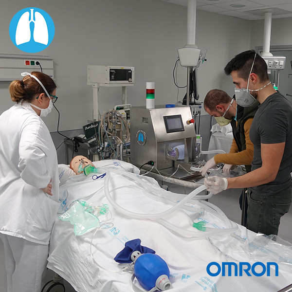 Omron-Open Ventilator
