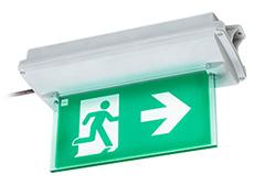 Luminarias para Señalética de Evacuación – Serie 6102 – STAHL