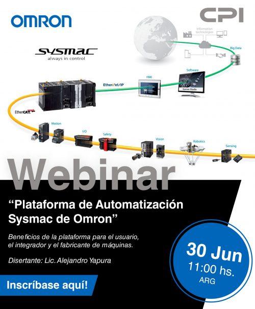 Plataforma-de-Automatización-Sysmac-de-Omron